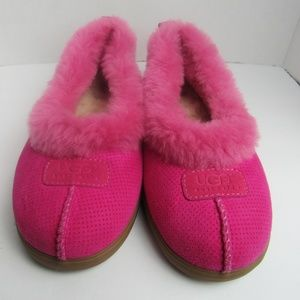 UGG Pink Slippers Size 10
